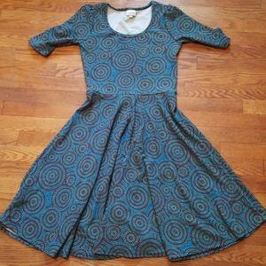 🎇 3/$20 NWOT LuLaRoe Nicole dress, size medium